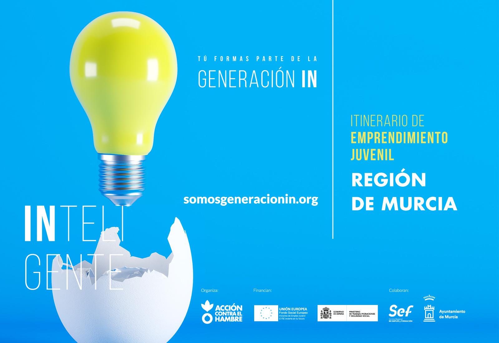 Generación IN Programa gratuito de formación competencial en softskills y de emprendimiento