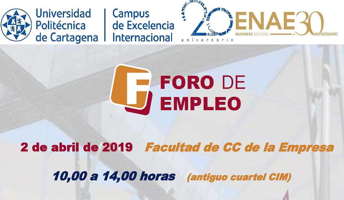 FORO DE EMPLEO  2019