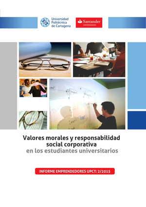 Valores morales y resposabilidad social corporativa en los estudiantes universitarios