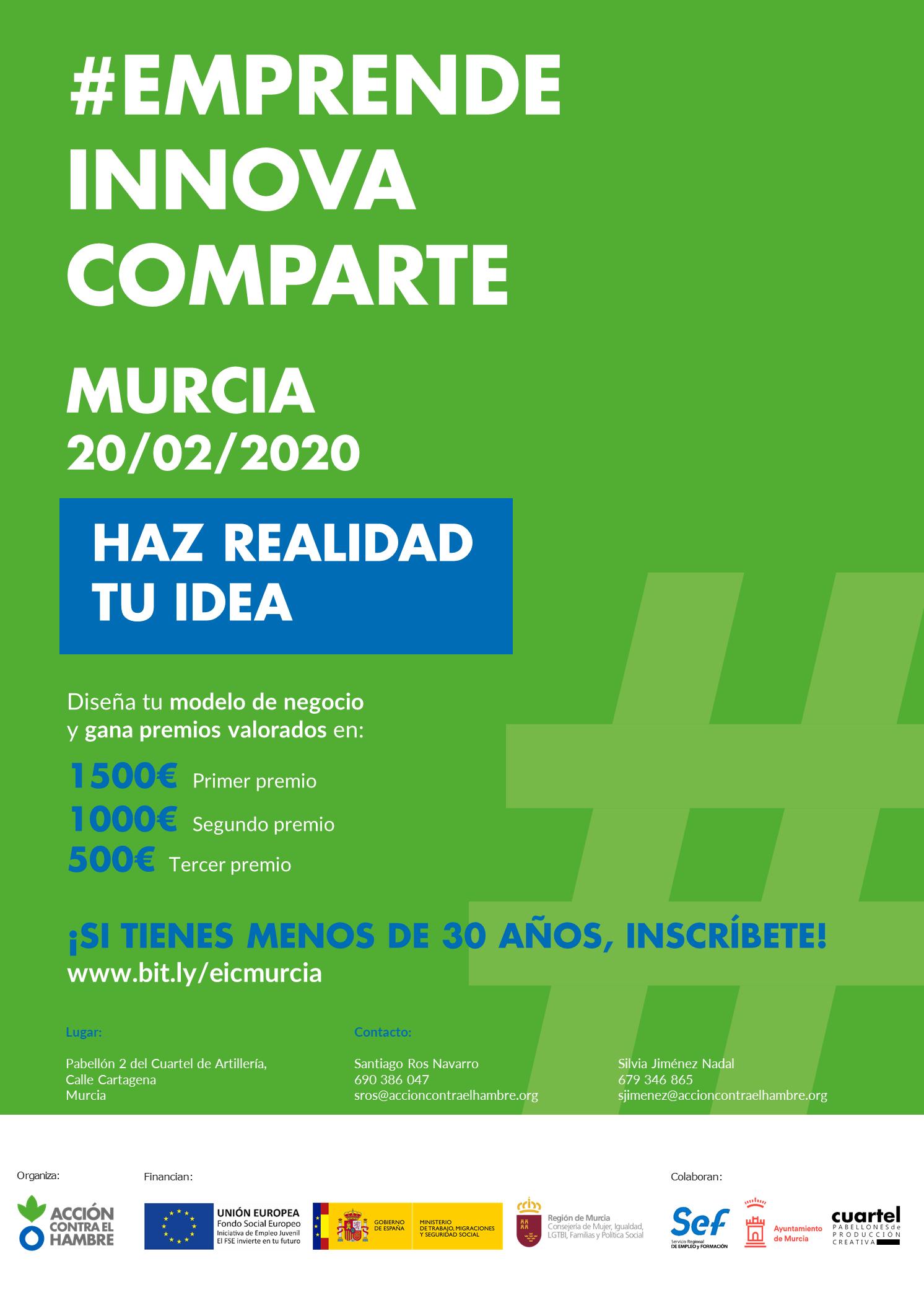 I edición Emprende Innova Comparte en la Región de Murcia